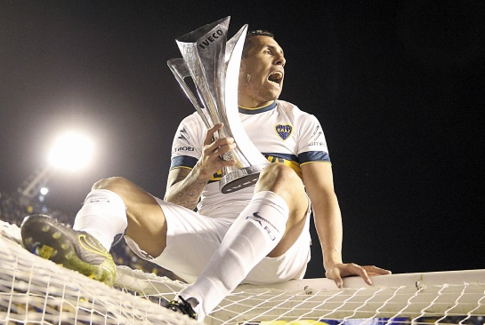 Avec Tevez, Boca Juniors de nouveau champion d'Argentine