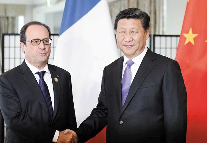 La France appelle la Chine à convaincre les pays émergents récalcitrants