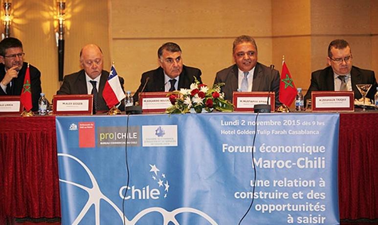 Vers une nouvelle impulsion du partenariat commercial et industriel maroco-chilien