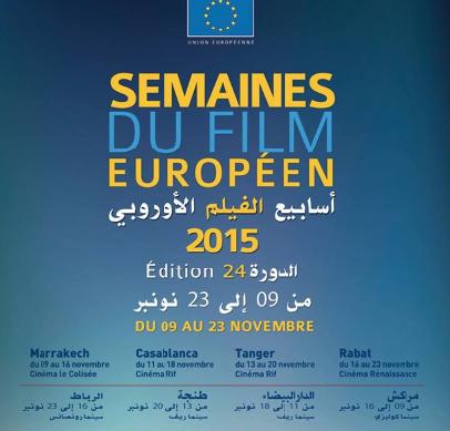 Les 24èmes semaines du film européen au Maroc