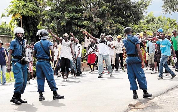 """Le Burundi proche de """"la guerre civile"""""""