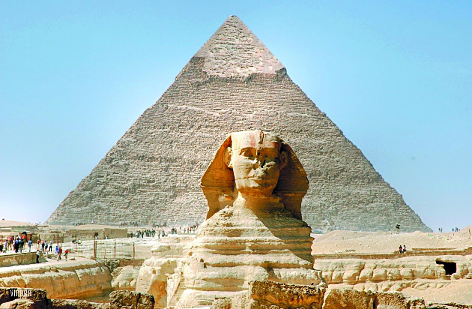 Insolite : Les pyramides d'Egypte