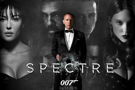 «007 Spectre» élimine la concurrence en tête du box-office nord-américain