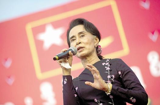 Victoire écrasante en vue pour Aung San Suu Kyi en Birmanie