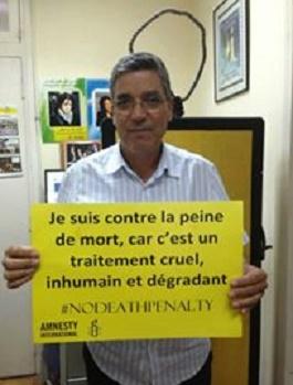Amar Benamar :  La Constitution de 2011 reconnaît le droit à la vie,  faut-il le rappeler ?