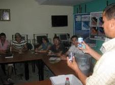 """Session de formation """"Voix des jeunes Marocains"""" à Nador"""