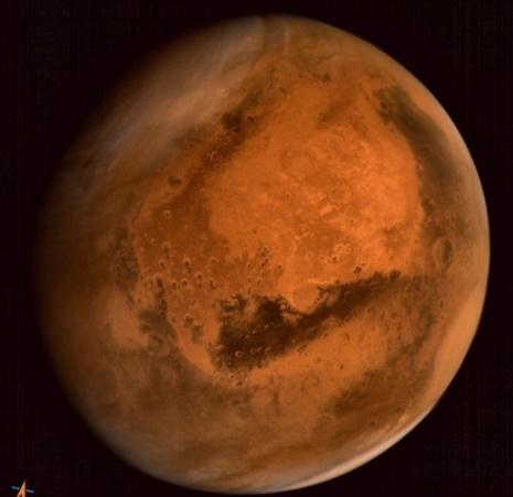 Les éruptions solaires seraient la cause de la perte de l'atmosphère martienne