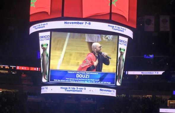 Chants et drapeaux marocains dans un match de la NBA à Orlando