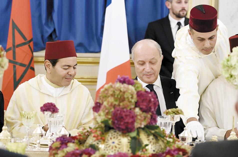 Dans son discours à l'occasion de la commémoration du 60ème anniversaire des accords de La Celle-Saint-Cloud