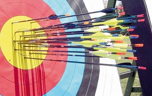 La ville ocre à l'heure de la première étape de la Coupe du monde de tir à l'arc