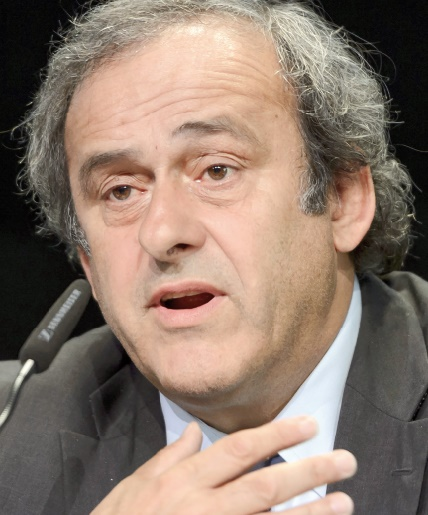 Platini : I will never walk alone