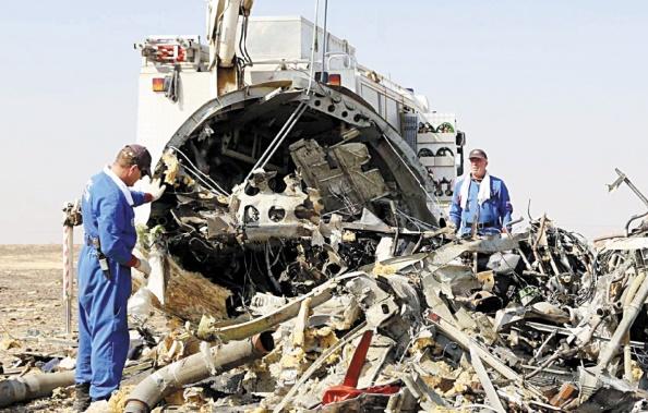 Moscou corrobore la thèse de l'attentat dans le crash du vol A321