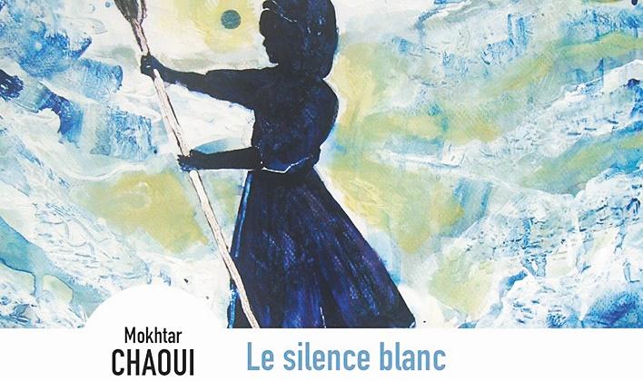 """""""Le silence blanc"""" de Mokhtar Chaoui présenté à la Villa des arts de Rabat"""
