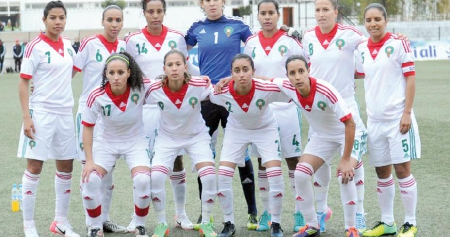Les sélections féminines de foot-ball en stage de préparation à Maamora