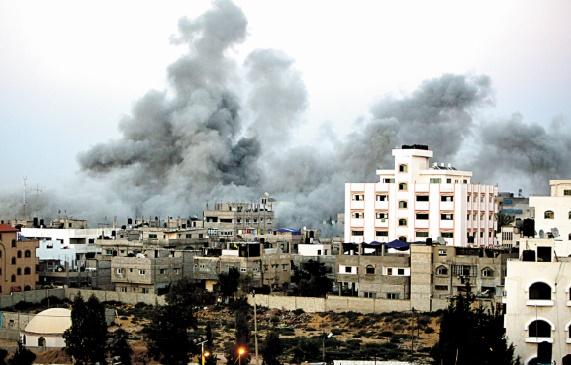 Raid aérien à Gaza en réaction à un tir de roquette