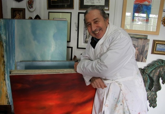 Lahbib M'Seffer restitue les couleurs et les rythmes lumineux des paysages marocains