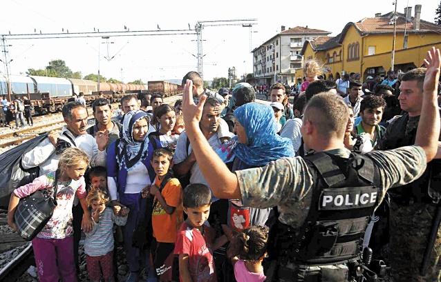La Serbie et la Macédoine filtrent le passage des migrants par nationalité