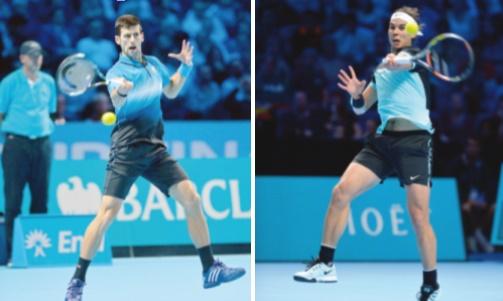 Djokovic-Nadal, premier choc des demi-finales aux Masters
