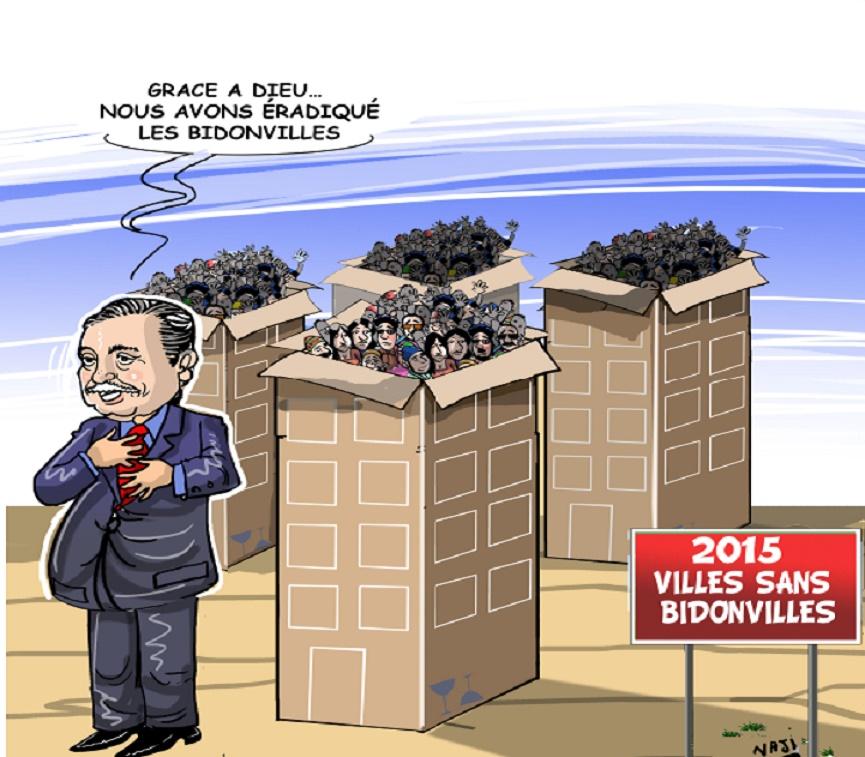 L'habitat et l'urbanisme ballottés entre les chiffres du ministre et une réalité criante