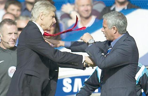 Wenger et Mourinho ne sont plus à un paradoxe près