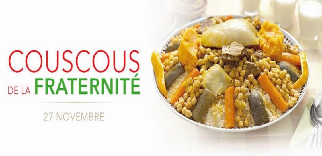 Au Maroc et ailleurs, des couscous de la fraternité pour rester unis face à la barbarie