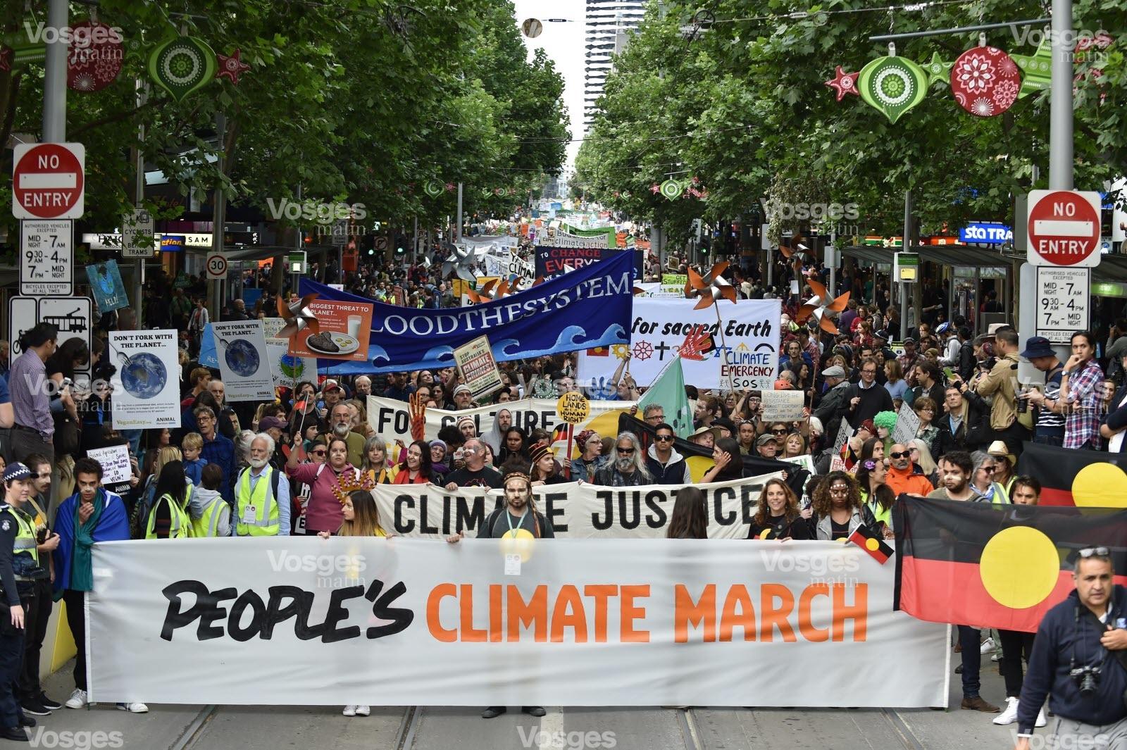 Une cinquantaine de marches pour le climat à travers le monde