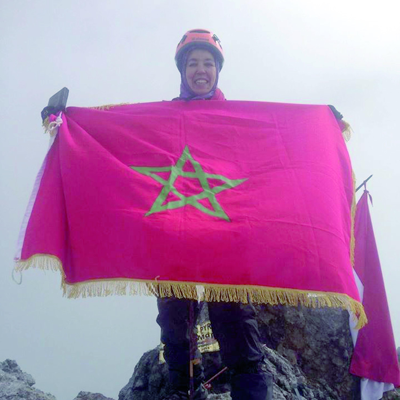 Bouchra Baibanou à la conquête des plus hauts sommets du monde