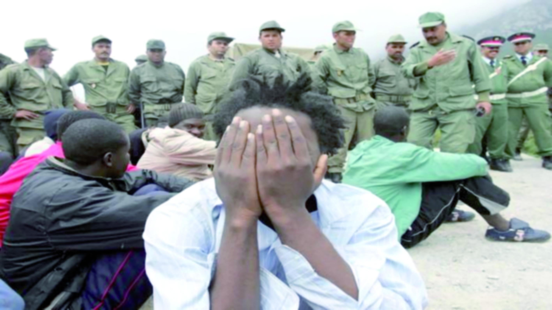 Opération coup de poing contre les migrants irréguliers de Tanger