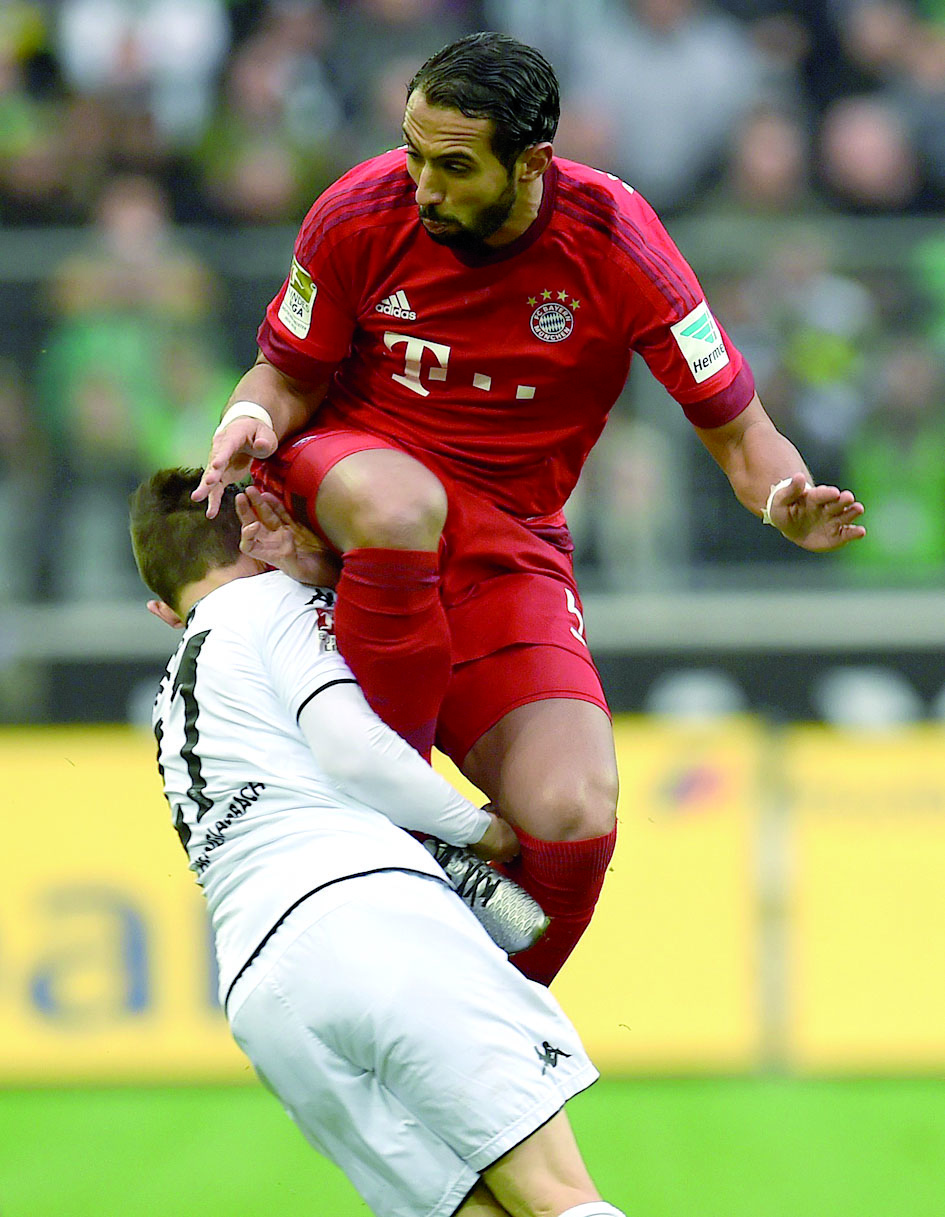 Première défaite du Bayern Munich face à Mönchengladbach