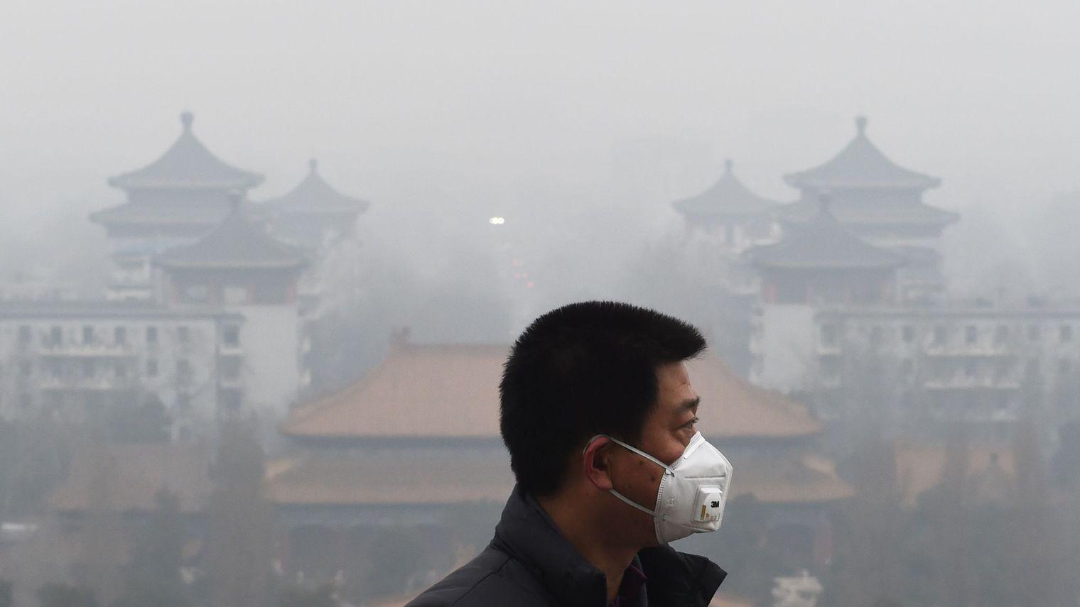 """Fin de l'""""alerte rouge"""" à la pollution à Pékin"""