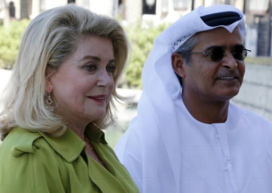 Catherine Deneuve à l'honneur à Dubaï