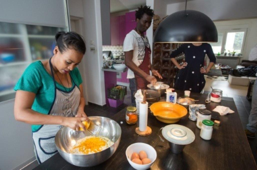 En Croatie, un petit goût de chez soi pour aider les migrants à s'intégrer