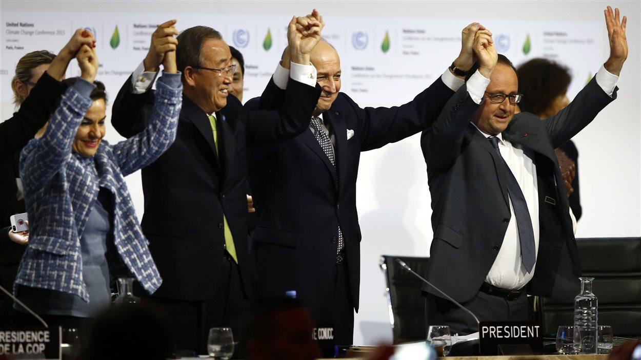 Accord historique à Paris en vue de  sauver la planète du désordre climatique