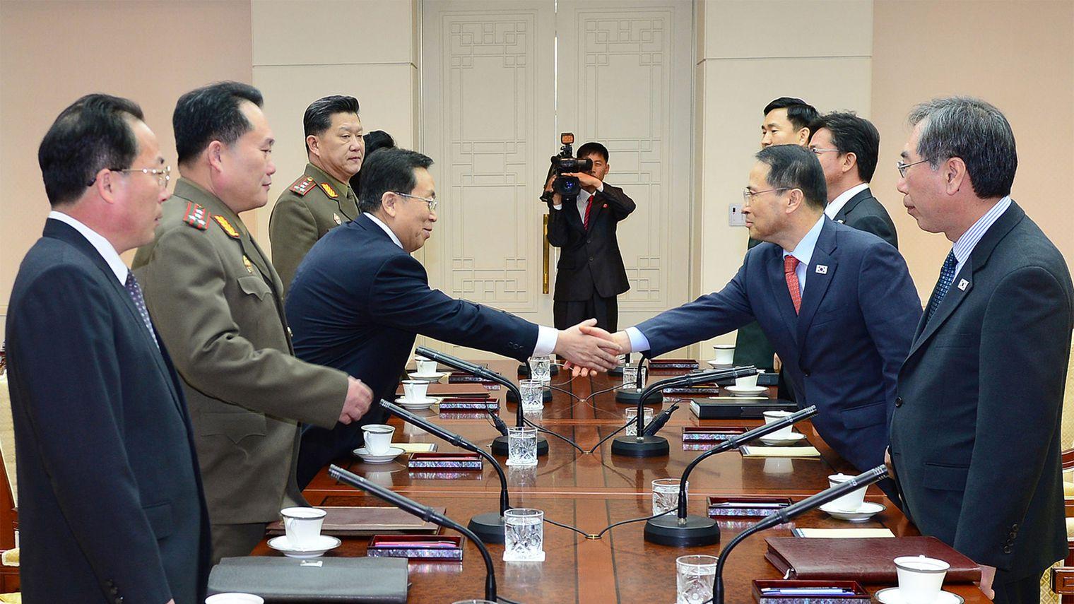 Echec des  discussions entre les deux Corées