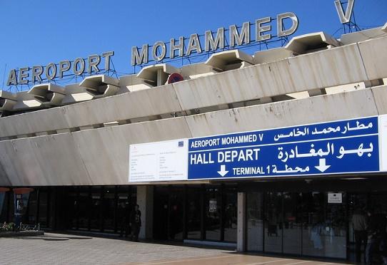 Interpellation des deux Marocains  à l'aéroport Mohammed V