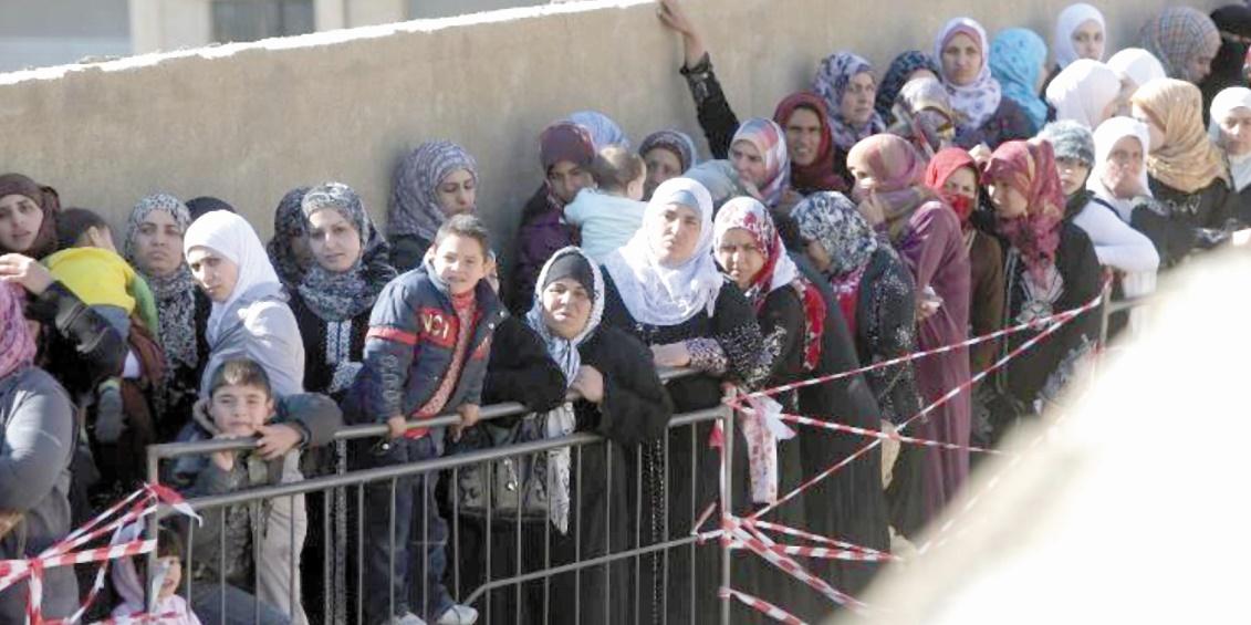 Le nombre de demandeurs d'asile syriens en augmentation exponentielle