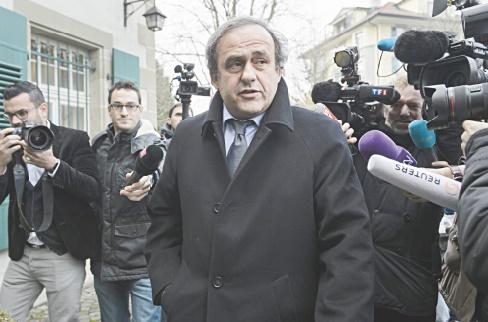 L'avocat de Platini plaide à la FIFA l'absence totale de culpabilité de son client