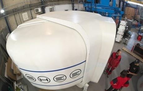 Un prototype de maison spatiale préfabriquée présenté à Strasbourg