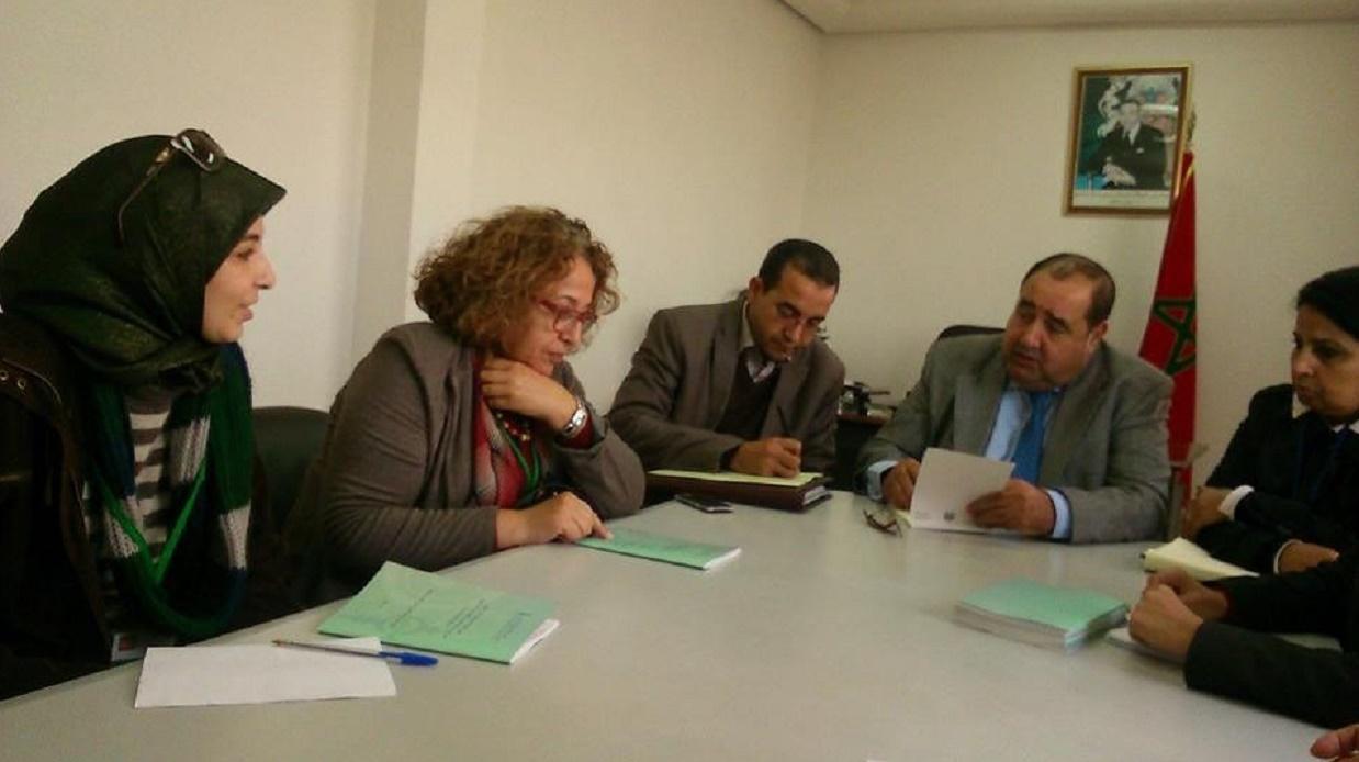Driss Lachguar reçoit les associations féministes et des droits de l'Homme