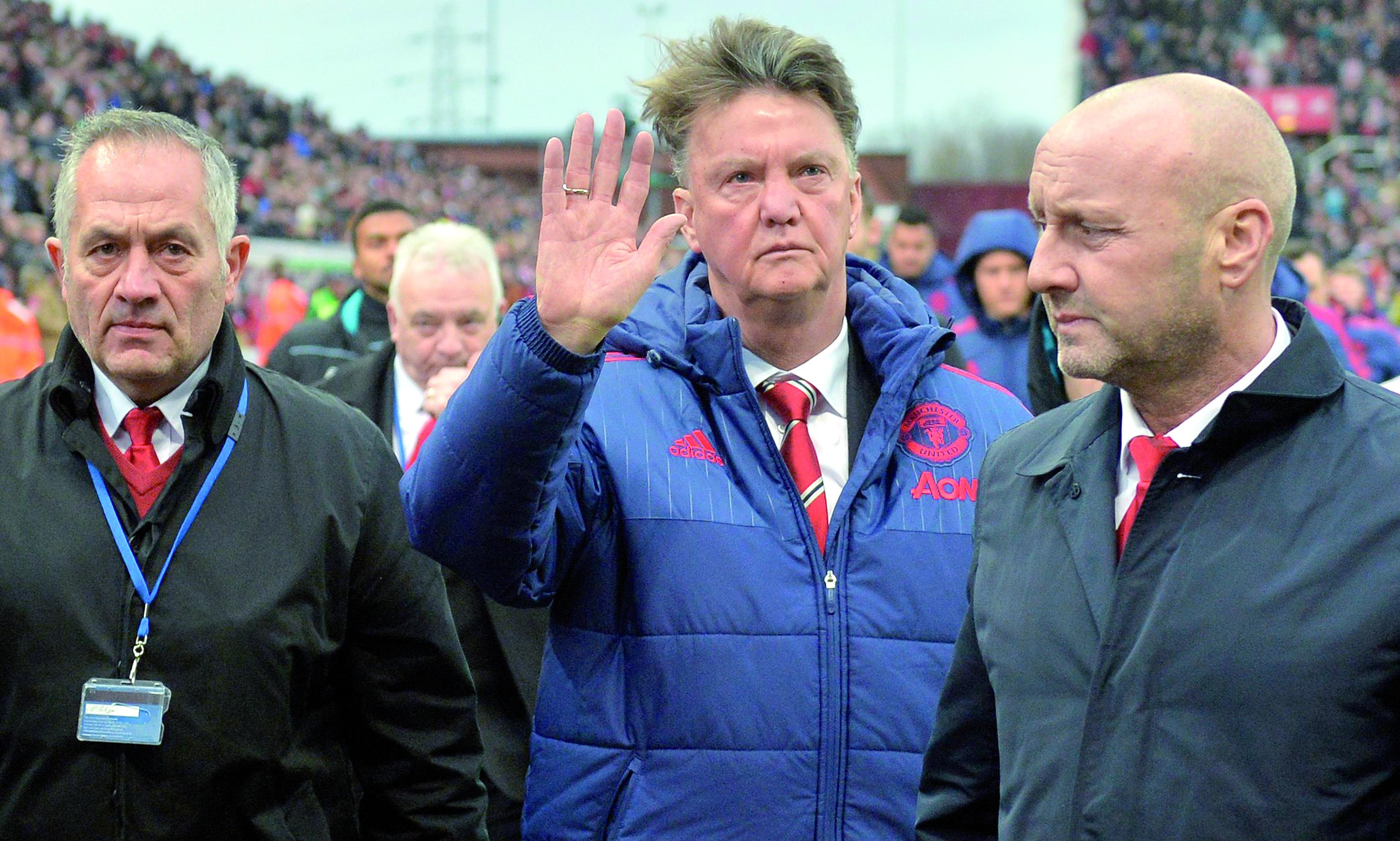 Un Boxing Day catastrophique pour  Van Gaal et United