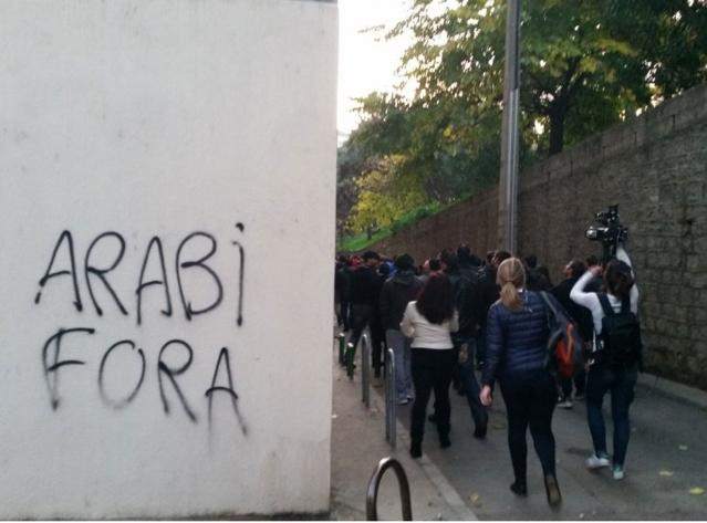 Une nouvelle manifestation en Corse au lendemain du saccage d'une mosquée
