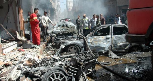 14 morts dans un double attentat à Homs