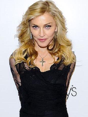 Le premier job des stars : Madonna