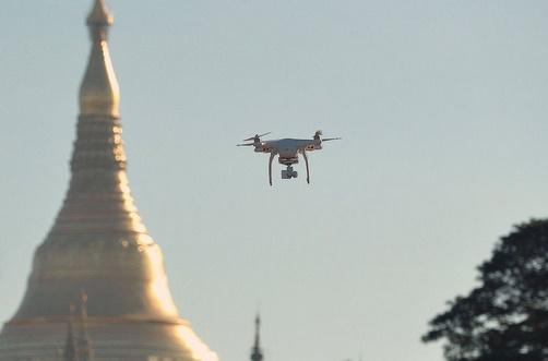 En Birmanie, le drone fait maison porte les rêves de la jeunesse