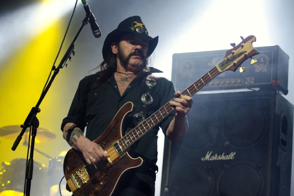 Lemmy Kilmister Guerrier et légende du rock'n'roll