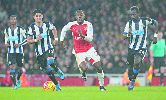 Arsenal n'est pas prêt à lâcher du lest