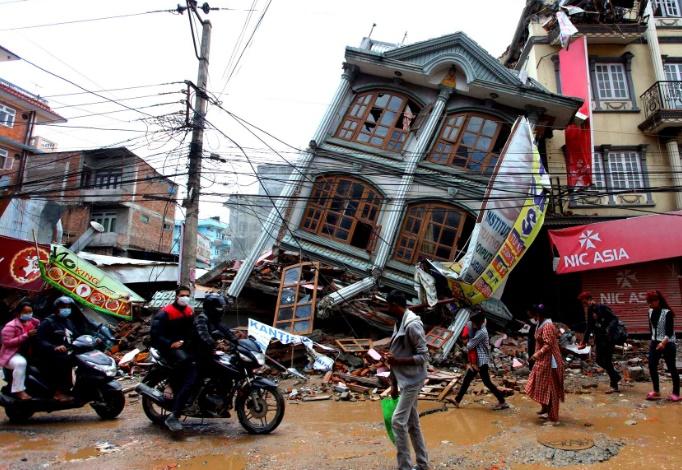 Les catastrophes naturelles plus mortelles en 2015