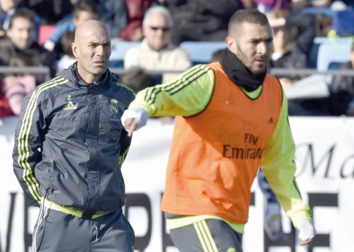 Coach d'un top club comme Zidane