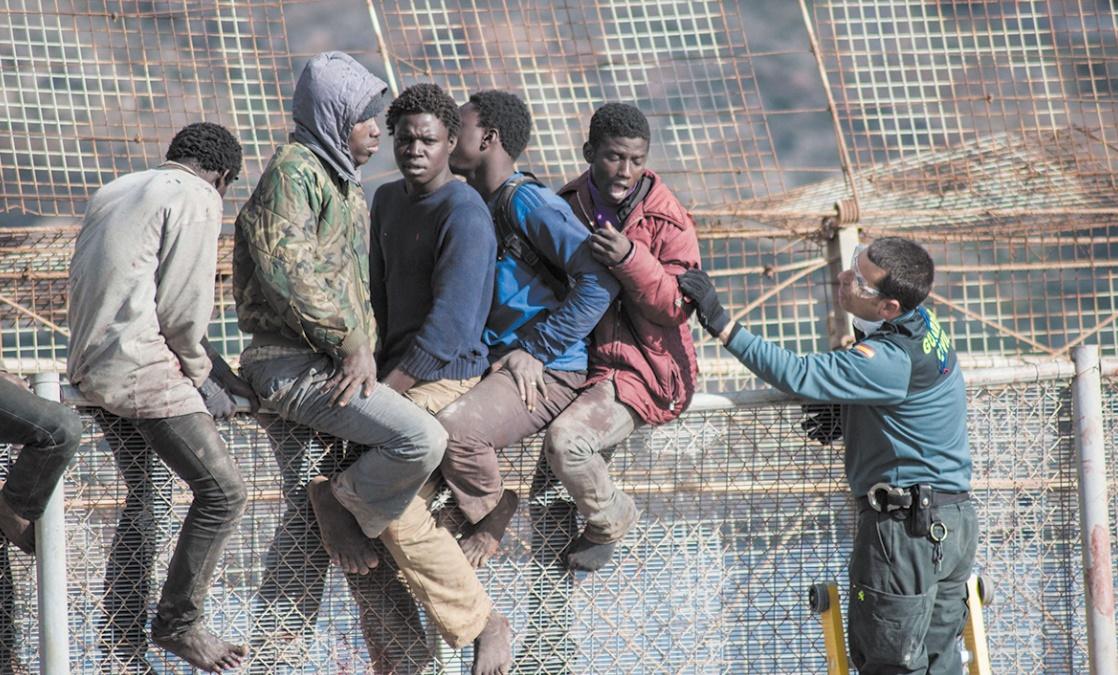 L'insoutenable quotidien des migrants aux portes de Sebta et Mellilia