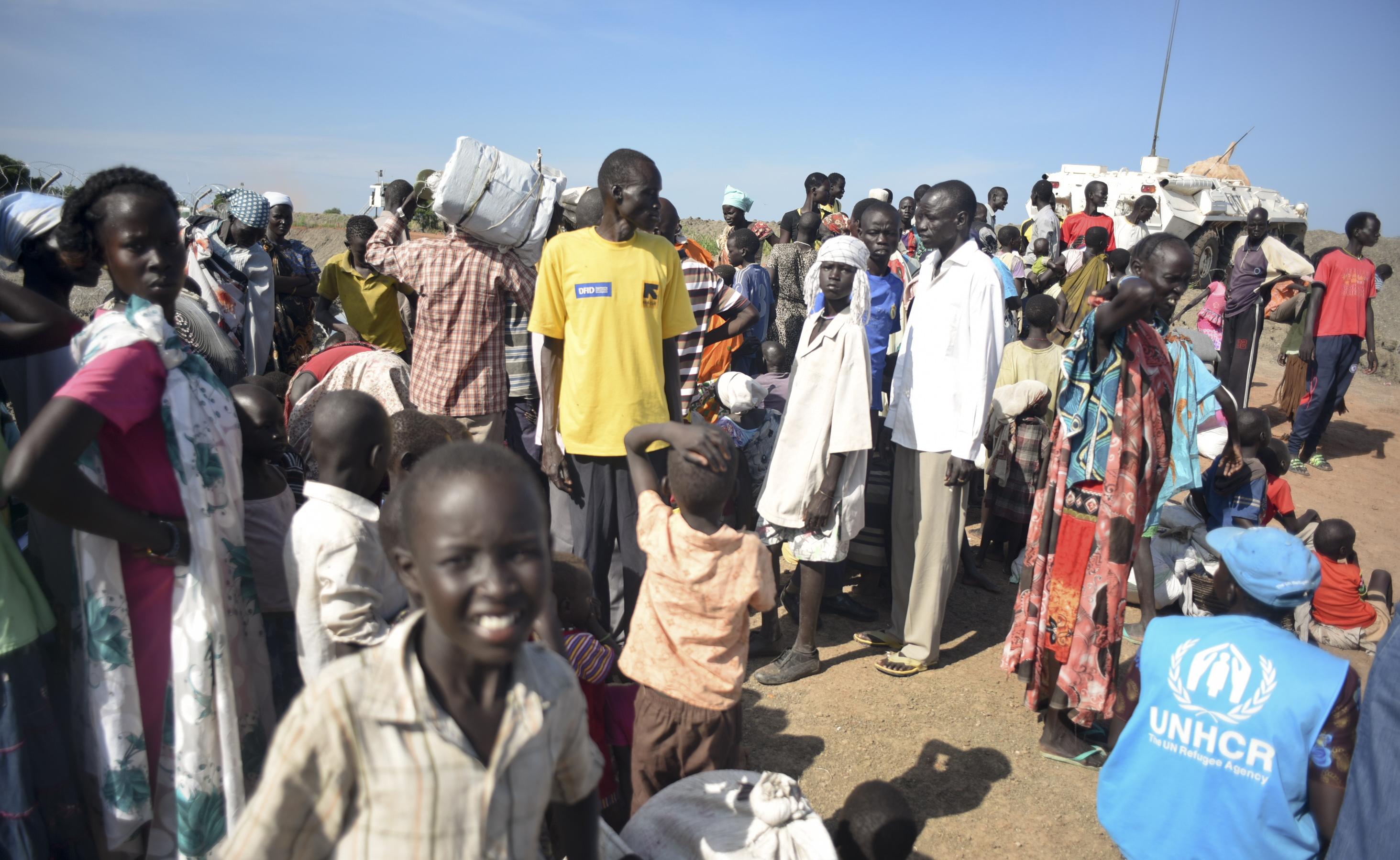 Des milliers  de déplacés au Soudan du Sud